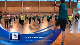 preview picture of video 'Brice GUIBBERT - ZUMBA PARTY Noir et Vert - Ecole TOURNON'