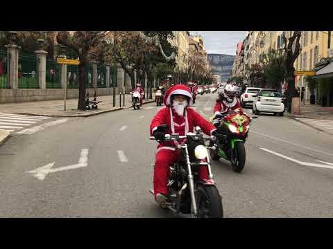 VIDÉO. Défilé de Noël des motards à Ajaccio