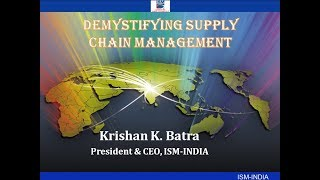 Supply Chain Management   An Overview