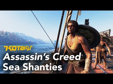 Assassin's Creed Odyssey's Female Crews Sing Different Sea Shanties