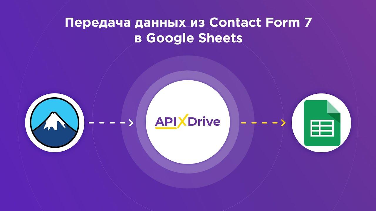 Как настроить выгрузку данных из ContactForm7 в Google Sheets?