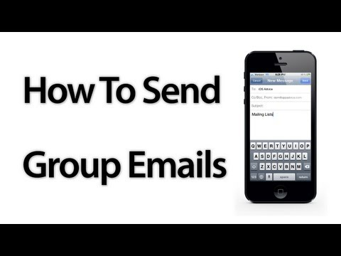 [iOS Advice] How To Send Group Emails With The Mail App