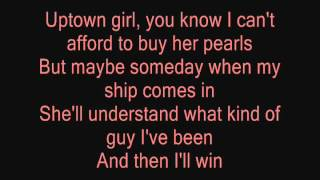 Uptown Girl Westlife Lyrics