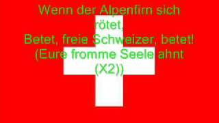 Hymne National De La Suisse Allemand