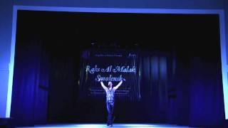 Алексей Рябошапка.  Второе выступление. Raks al malak Smolensk 2016. Гала концерт