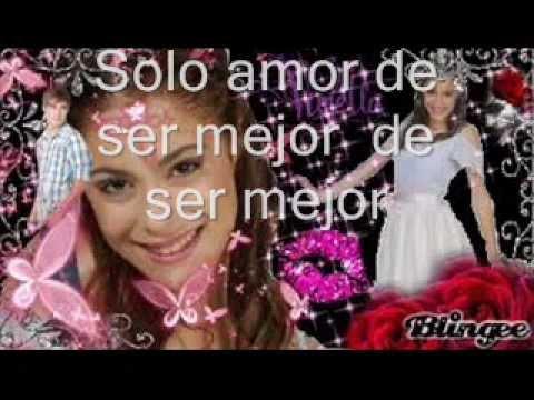 Violetta-Solo amor amor amor letra