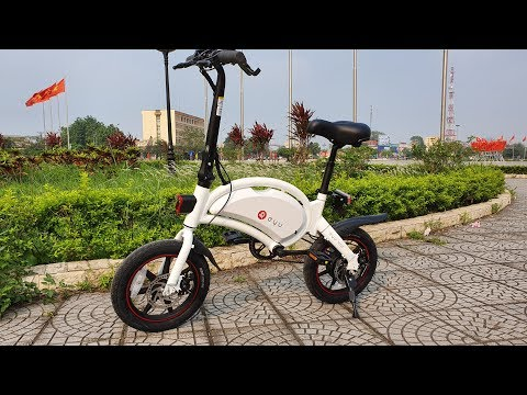 Unboxing and Test F-wheel DYU D3+ Smart E-Bike