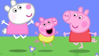 Peppa Pig English Episodes | Baby Alexander plays with Peppa! #PeppaPig