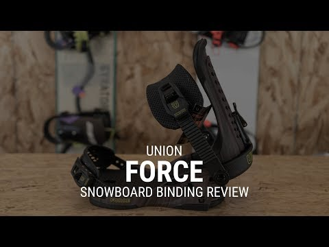 2019 Union Force Snowboard Binding Review- Tactics