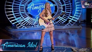 Harper Grace Auditions for American Idol With Down-home Original Tune - American Idol 2018 on ABC - Video Youtube