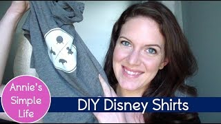DIY Disney T-Shirts |  Look For Less Collab