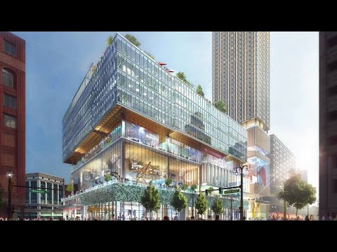 2 large cranes to arrive at Hudson's site construction of tower to begin