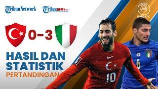 Euro 2020: Turki 0-3 Italia, Gli Azzuri Duduk Manis di Puncak Klasemen Grup A dengan 3 Poin