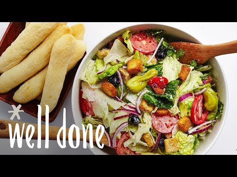 Copycat Olive Garden Salad And Breadsticks: An Italian-Style DIY Favorite | Recipes | Well Done