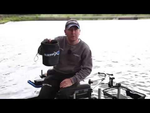 Matrix Collapsible Water Bucket - inc. Drop Cord & Clip Vödör videó