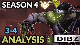 Overwatch: GENJI, ZARYA, + TRACER SEASON 4 PLACEMENTS + Short Analysis (Part 2)! Games 3 + 4