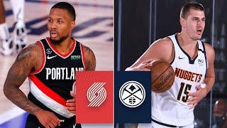 Trail Blazers vs. Denver Nuggets [FULL HIGHLIGHTS] | 2019-20 NBA Highlights