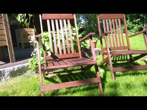 Gartenmöbel und Holzmöbel ölen und pflegen
