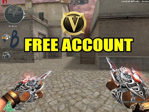 Crossfire PH Free VIP account and Ecoins By Gm Zaria