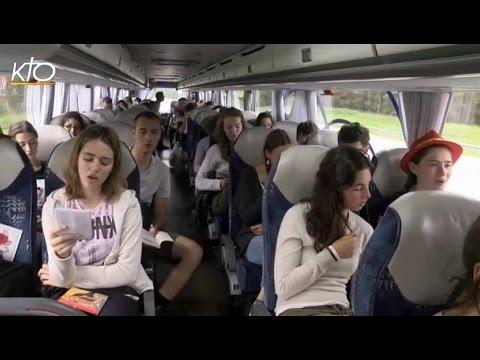 Sur la route des JMJ avec les Belges