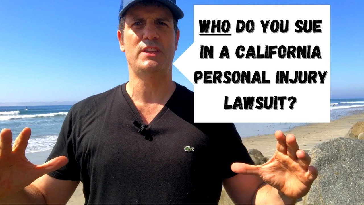Who Do You Name As Defendant(s) in Your California Injury Lawsuit?
