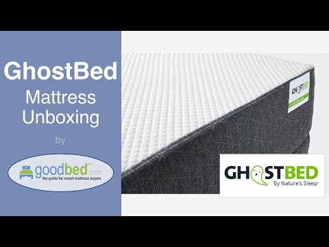 GhostBed Mattress Unboxing (VIDEO)