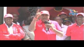 Uhuru Kenyatta: IEBC is not a commission for NASA or Raila Odinga