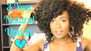 Amber's 3 Year Natural Hair Update & Lessons Learned!! - NaturallyGG