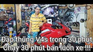 Ducati V4s - Khi đam mê được thỏa mãn thì bán mua xe khác !!!