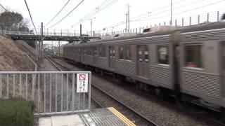 【爆音・最高速通過】東急8500系 南町田駅を疾走④