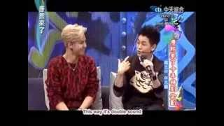 Show Lo - Kang Xi Lai Le (康熙來了) 2013 w/ Jimmy Lin - P2 [ENG SUB]