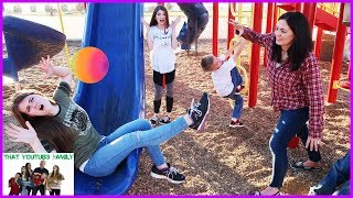 Playground Wars BALL TAG  That YouTub3 Family
