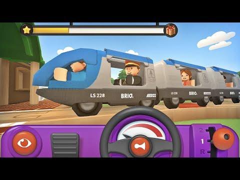 Brio World Ferrocarril App 🚂 gran juego de trenes de madera para niños