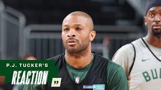 P.J. Tucker NBA Finals Media Availability | 7.19.21