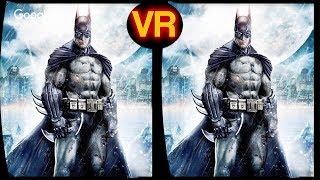 3D BATMAN | VR Virtual Reality - Google Carboard , VR Box , Gear VR