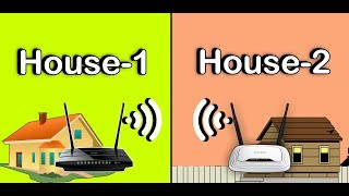 How To Connect wirelessly Two Routers On One Home Network Using WDS without cable