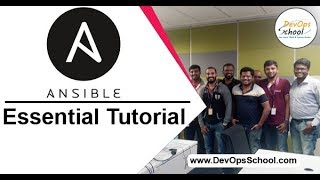 Ansible Tutorial - Ansible tutorial for beginners - November 2019