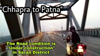 preview picture of video 'Chhapra to Patna trip vlog.01 || Via. Digha-Sonpur rail Cum road Bridge'