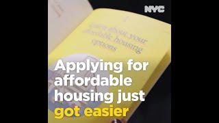 Applying for Affordable Housing Just Got Easier