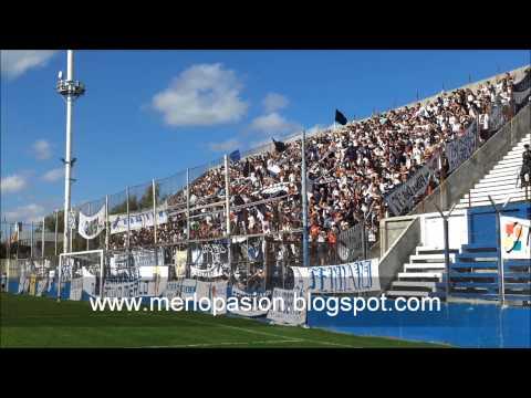 """""""www.merlopasion.blogspot.com"""" Barra: La Banda del Parque • Club: Deportivo Merlo"""