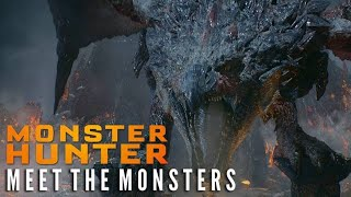 MONSTER HUNTER - Meet The Monsters | Now on 4K Ultra HD and Digital!