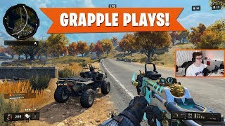 THE GRAPPLE PLAYS! | Black Ops 4 Blackout | PS4 Pro