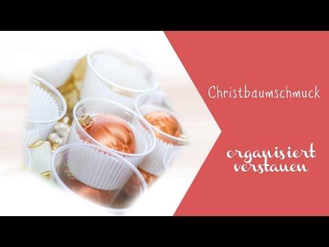 Christbaumschmuck Diy Aufbewahrung Einfach Organisiert