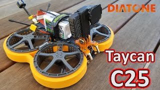 Diatone Taycan 25 DUCT Cinewhoop Review ????