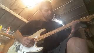 Guitar strung for left handed