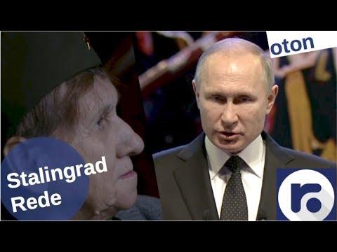 Putin über Stalingrad auf deutsch [Video]
