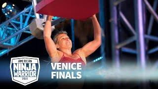 Jessie Graff at 2015 Venice Finals | American Ninja Warrior