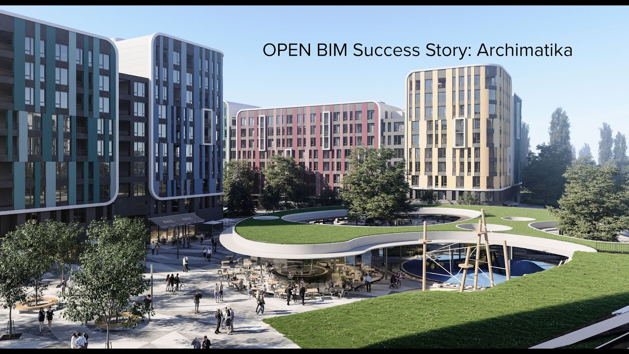 OPEN BIM Success Story: Archimatika, Ukraine