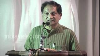 Dr. Binayak Sen's Lecture