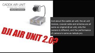 CaddxFPV Air Unit Micro Air Unit 2.0?